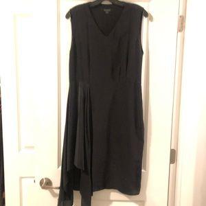 Allsaints asymmetrical drape dress NWOT